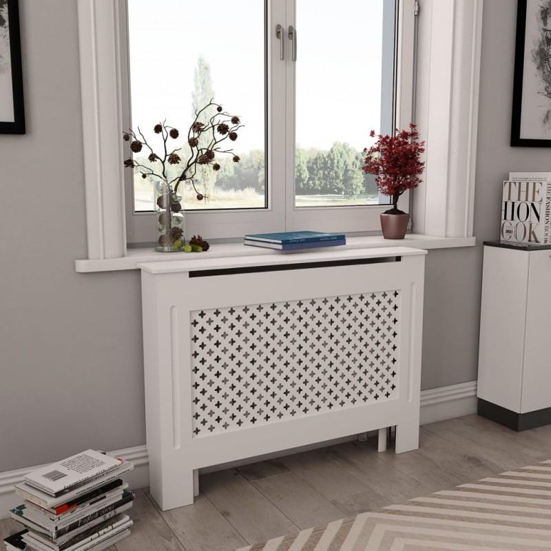 Cache-radiateurs 2 pcs Blanc...